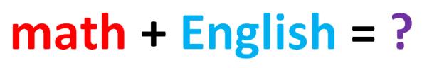 Mathematical English