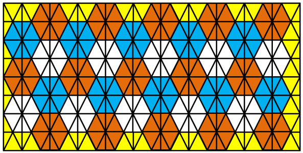Lattice Hexagons