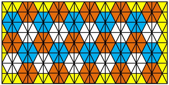 Lattice Hexagons