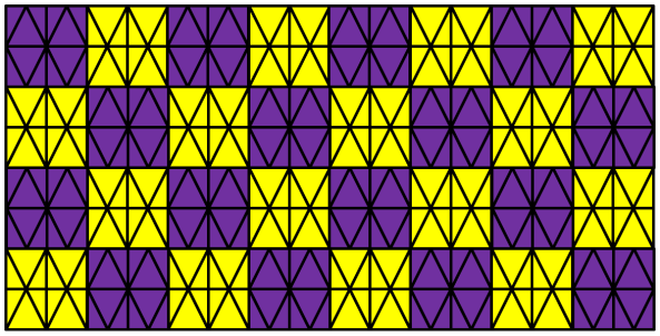 Tessellations Hexagon Square Triangle Rhombus Trapezoid Star Patterns on Easy To Do Tessellations