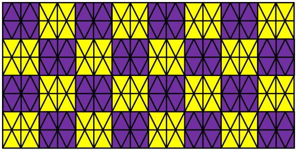 Lattice Squares